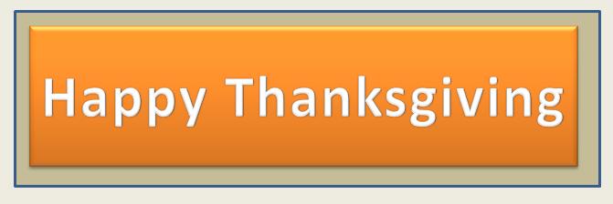 Christ First-Thanksgiving