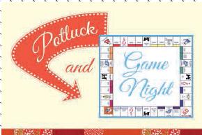 Potluck Family Night