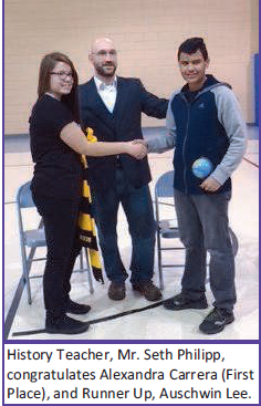 Geography Bee Champion